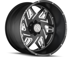 AMERICAN TRUXX ORION ATF1908 Series - Matte Black - Milled