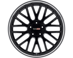 Cray Wheels MANTA - Gloss Black - Mirror cut lip