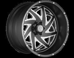 AMERICAN TRUXX KRONOS ATF1910 Series - Matte Black - Milled