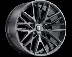 Touren Wheels TR91 3291 Series - Brushed matte black - Dark Tint