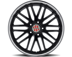 VICTOR EQUIPMENT LEMANS Wheels - Gloss Black - Mirror cut lip