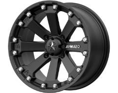 MSA Wheels M20 KORE - Satin Black