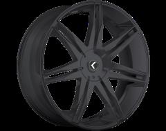 Kraze Wheels EPIC KR143 Series - Satin Black