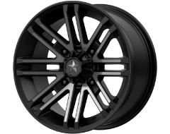 MSA Wheels M40 ROGUE - Satin Black - Titanium Tint