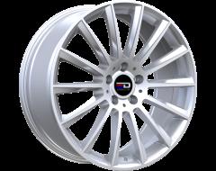 EURO DESIGN Wheels Sacco - Silver
