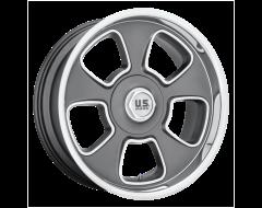 US MAG Wheels U125 BOULEVARD - Matte Gunmetal