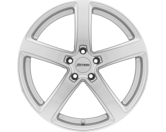Petrol Wheels P2A - Silver - Machined cut face