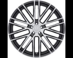Mandrus Wheels MASCHE - Gloss Gunmetal - Mirror cut face