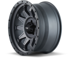 Dirty Life Wheels ROADKILL 9301 Series - Matte Gunmetal - Black BeadLock