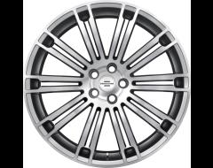 Redbourne Wheels MANOR - Silver - Mirror cut face