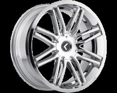 Kraze Wheels CRAY KR141 Series - Chrome