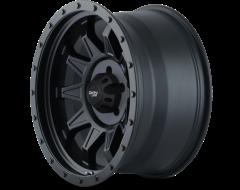 Dirty Life Wheels ROADKILL 9301 Series - Matte Black - Black BeadLock