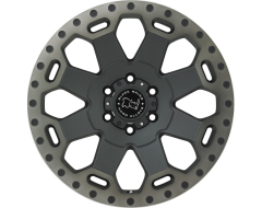 Black Rhino Wheels WARLORD - Matte Black - Machined dark tint lip