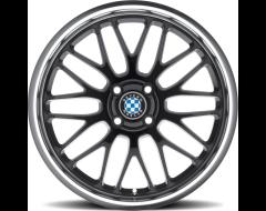 Beyern Wheels MESH - Gloss Black - Mirror cut lip