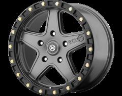 ATX Series Wheels AX194 RAVINE - Matte Grey - Black Reinforcing