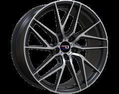 EURO DESIGN Wheels Tech - Matte Black - Machined