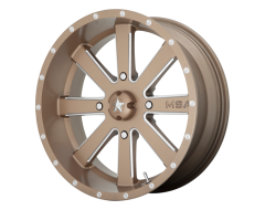 MSA Wheels M34 FLASH - Bronze - Milled