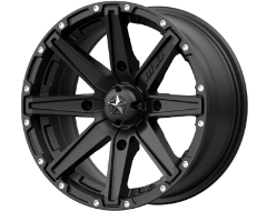MSA Wheels M33 CLUTCH - Satin Black