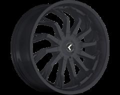 Kraze Wheels SCRILLA KR142 Series - Satin Black