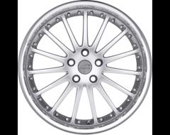 Coventry Wheels WHITLEY - Hyper Silver - Mirror cut lip