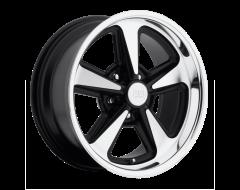 US MAG Wheels U109 BANDIT - Matte Black - Machined