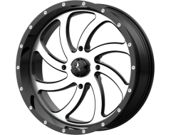 MSA Wheels M36 SWITCH - Machined Gloss Black