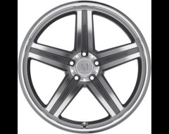 Mandrus Wheels MANNHEIM - Gunmetal - Mirror cut face and lip