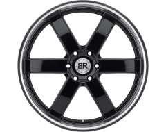 Black Rhino Wheels PONDORA - Gloss Black - Machined cut lip