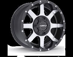 Krank Wheels Slick - Gloss Black - Machined