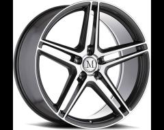 Mandrus Wheels BREMEN - Gloss Gunmetal - Mirror cut face