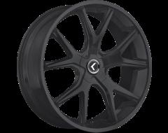 Kraze Wheels SPLTZ KR146 Series - Satin Black