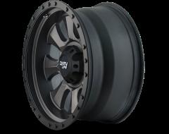Dirty Life Wheels IRONMAN 9300 Series - Matte Black - Black BeadLock