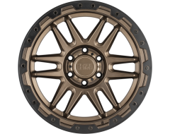 Black Rhino Wheels APACHE - Matte Bronze - Black lip edge and black bolts