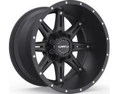 Krank Wheels Shaft - Satin Black