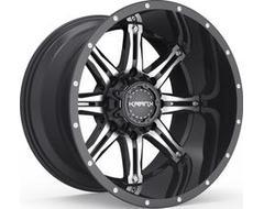Krank Wheels Shaft - Gloss Black - Machined