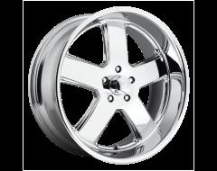 US MAG Wheels U116 HUSTLER - Chrome Plated