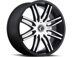 Kraze Wheels CRAY KR141 Series - Black - Machined