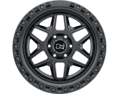 Black Rhino Wheels KELSO - Matte Black - Black Bolts