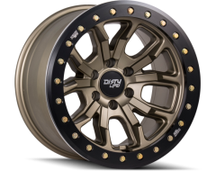 Dirty Life Wheels DT-1 9303 Series - Satin Gold - Simulated beadlock ring