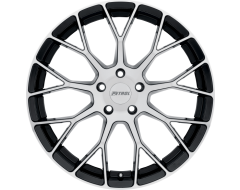 Petrol Wheels P2B - Gloss Black - Machined Face