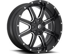 Fuel Off-Road Wheels D538 MAVERICK - Matte Black - Milled