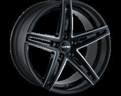 Touren Wheels TR73 3273 Series - Gloss Black - Milled spokes