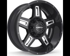 Krank Wheels Hammer - Gloss Black Milled