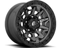 Fuel Off-Road Wheels D716 COVERT - Matte Gunmetal - Black Bead ring