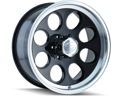 Ion Wheels 171 Series - Black - Machined lip