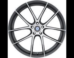 Beyern Wheels RITZ - Gloss Gunmetal - Brushed face