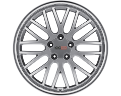 Cray Wheels MANTA - Hyper Silver - Mirror cut lip