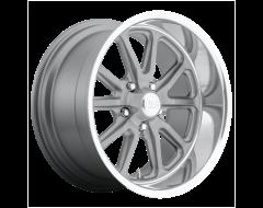 US MAG Wheels U111 RAMBLER - Matte Gunmetal - Machined