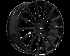 EURO DESIGN Wheels Sacco - Gloss Black