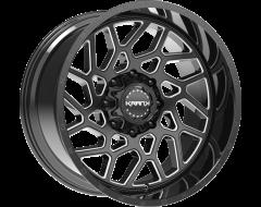 Krank Wheels Ambush - Gloss Black Milled